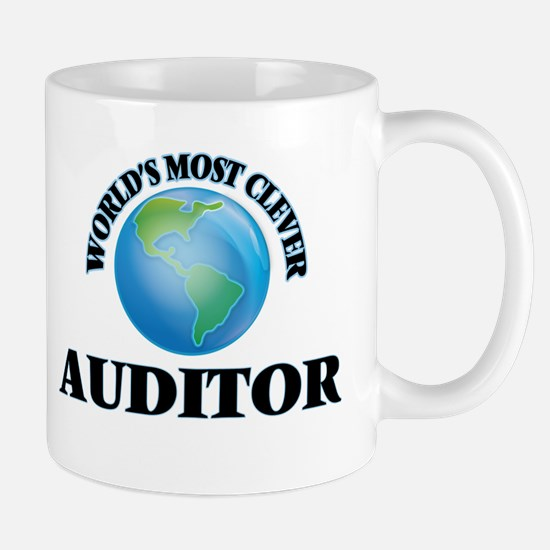 World's Most Clever Auditor Mugs