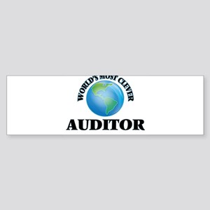 World's Most Clever Auditor Bumper Sticker
