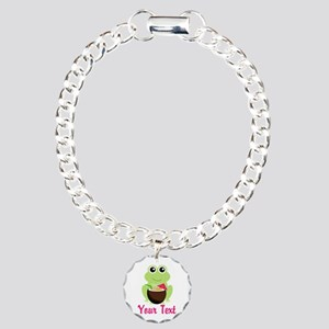 Personalizable Cocktail Frog Bracelet
