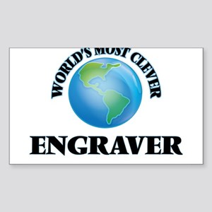 World's Most Clever Engraver Sticker