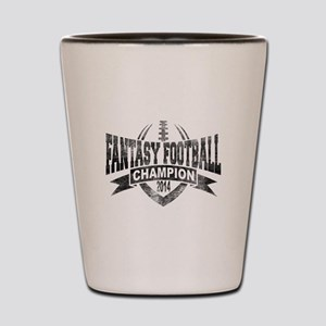 2014 Fantasy Football Champion - V Foot Shot Glass