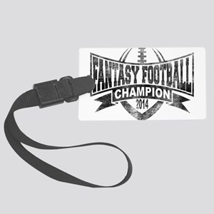 2014 Fantasy Football Champion - Large Luggage Tag