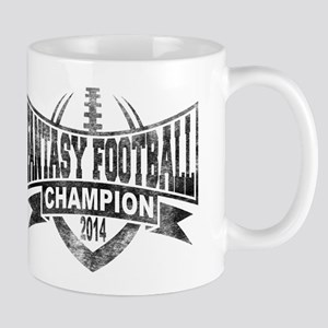 2014 Fantasy Football Champion - V Foot Mug