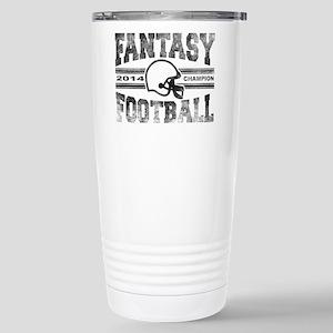 2014 Fantasy Football C Stainless Steel Travel Mug