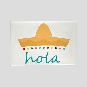 Hola Hat Magnets