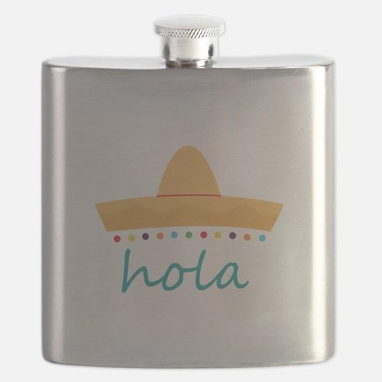 Hola Hat Flask