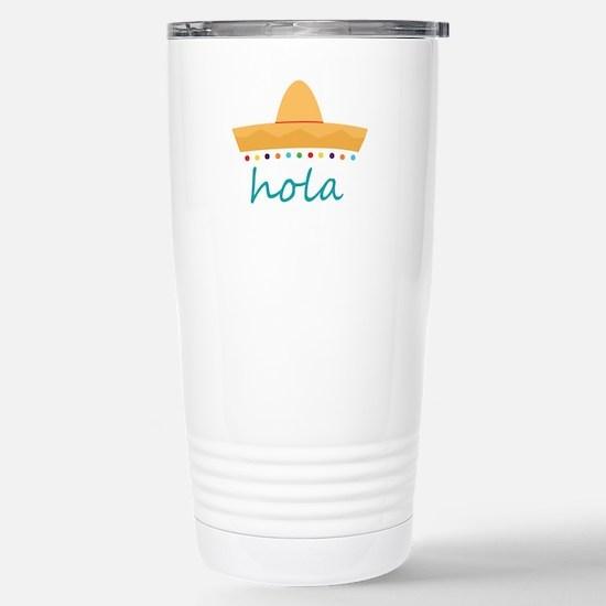 Hola Hat Travel Mug