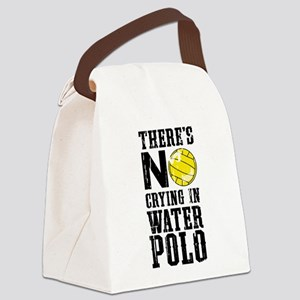 No Crying in Water Polo Canvas Lunch Bag