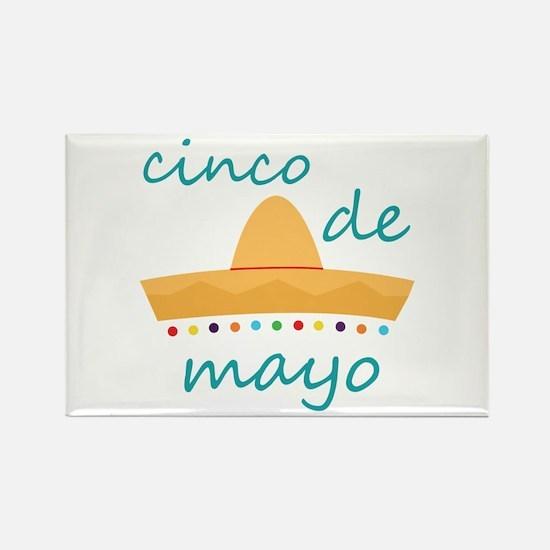 Cinco de Mayo Hat Magnets