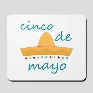 Cinco de Mayo Hat Mousepad