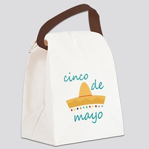 Cinco de Mayo Hat Canvas Lunch Bag