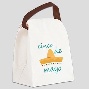 Cinco de Mayo Hat Canvas Lunch Bag