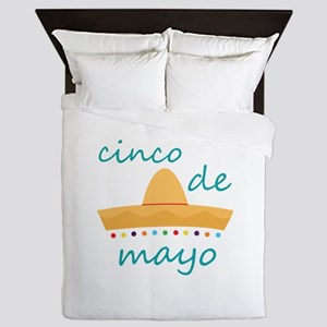Cinco de Mayo Hat Queen Duvet