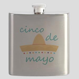 Cinco de Mayo Hat Flask