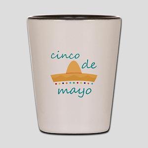 Cinco de Mayo Hat Shot Glass