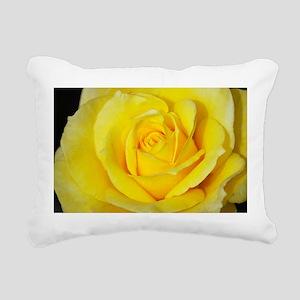 Beautiful single yellow Rectangular Canvas Pillow