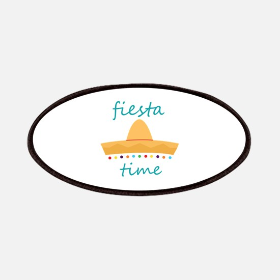 Fiesta Time Hat Patches