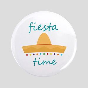 """Fiesta Time Hat 3.5"""" Button"""