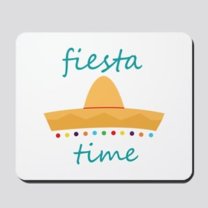 Fiesta Time Hat Mousepad