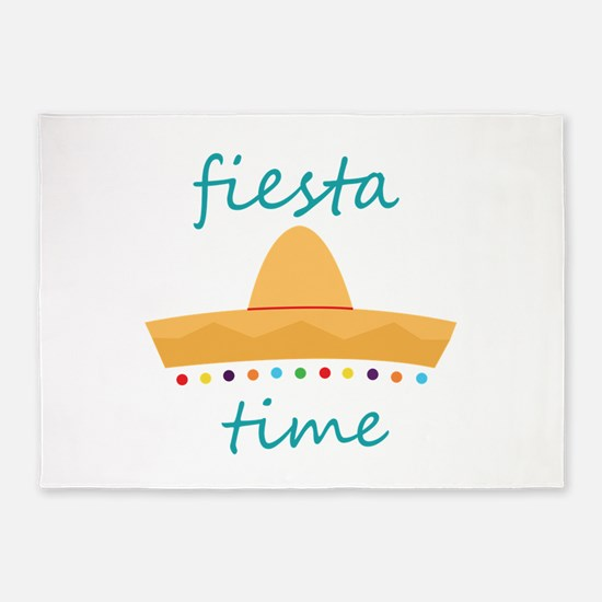 Fiesta Time Hat 5'x7'Area Rug