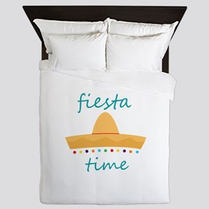 Fiesta Time Hat Queen Duvet