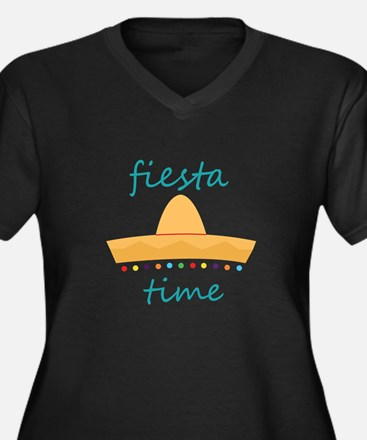 Fiesta Time Hat Plus Size T-Shirt