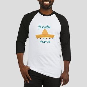 Fiesta Time Hat Baseball Jersey