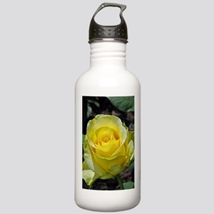 Singe yellow rose in s Stainless Water Bottle 1.0L