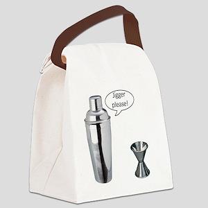 Jigger Please Canvas Lunch Bag