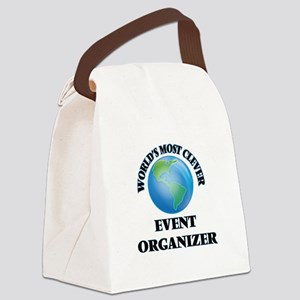 World's Most Clever Event Organiz Canvas Lunch Bag