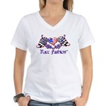 RaceFashion.com Women's V-Neck T-Shirt