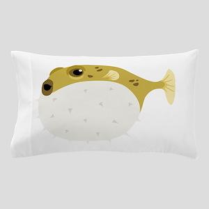 Blow Fish Pillow Case