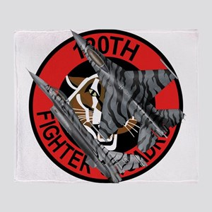 120th_fS_f-16_falcon Throw Blanket