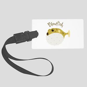 Blowfish Luggage Tag