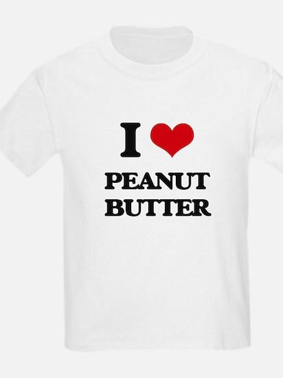 I Love Peanut Butter T-Shirt
