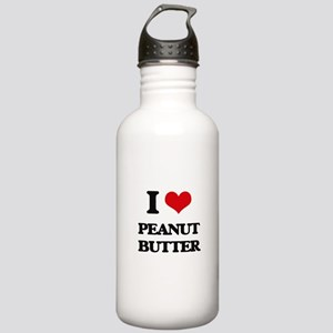 I Love Peanut Butter Stainless Water Bottle 1.0L
