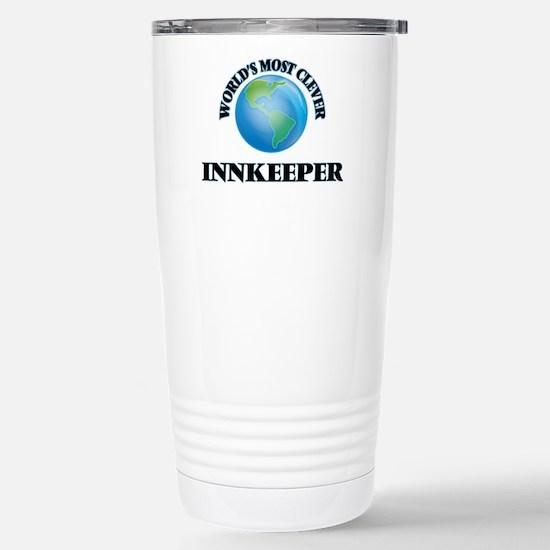 World's Most Clever Inn Stainless Steel Travel Mug