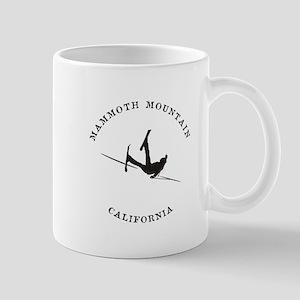 Mammoth Mountain Funny Falling Skier Mugs