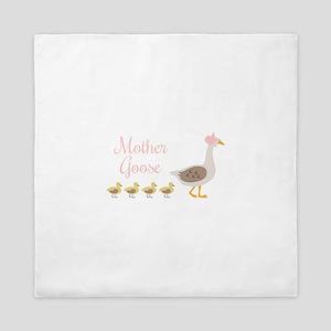 Mother Goose Queen Duvet