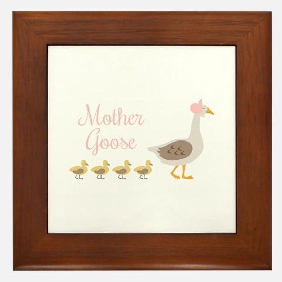 Mother Goose Framed Tile