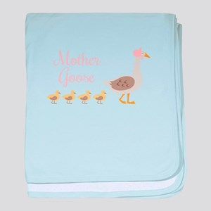 Mother Goose baby blanket