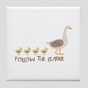 Follow The Leader Tile Coaster