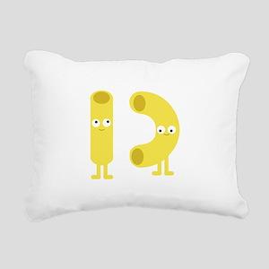 macaroni_base Rectangular Canvas Pillow
