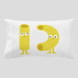 macaroni_base Pillow Case