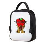 Teachers Apple Bear Neoprene Lunch Bag