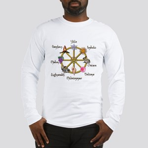 Wheel of the Year 1 Long Sleeve T-Shirt