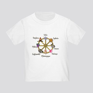 Wheel of the Year 1 Toddler T-Shirt