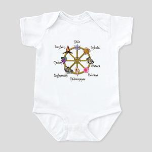 Wheel of the Year 1 Infant Bodysuit