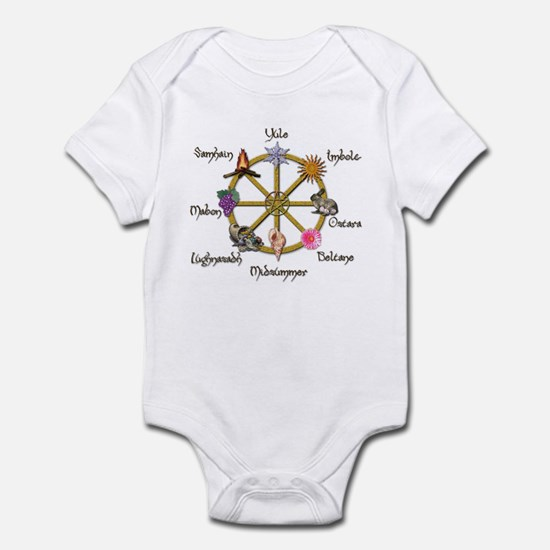Wheel of the Year 1 Infant Bodysuit