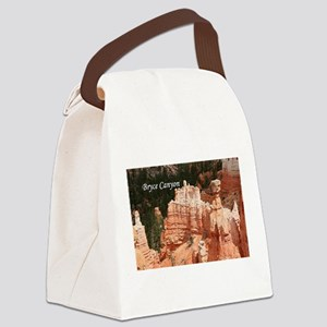 Bryce Canyon, Utah 3 (caption) Canvas Lunch Bag